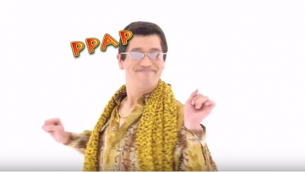 apple pen, pineapple pen, PPAP, piko taro, lagu apple pen, penyanyi apple pen, tarian apple pen, video lagu apple pen