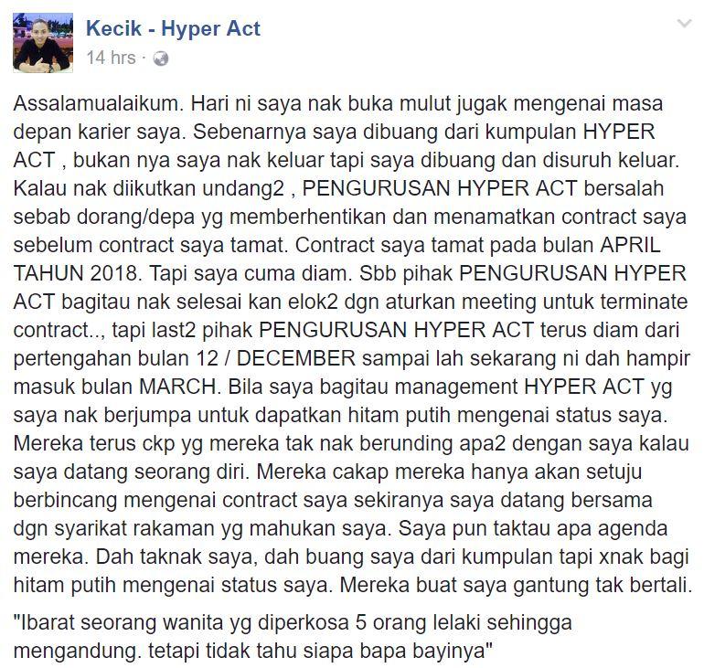 kecik keluar hyper act, kecik hyper act, kumpulan hyper act, sebab kecik keluar hyper act, gambar kumpulan hyper act, gambar kecik dengan hyper act