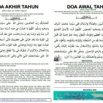 HUKUM DOA AWAL DAN AKHIR TAHUN – USTAZ AZHAR IDRUS